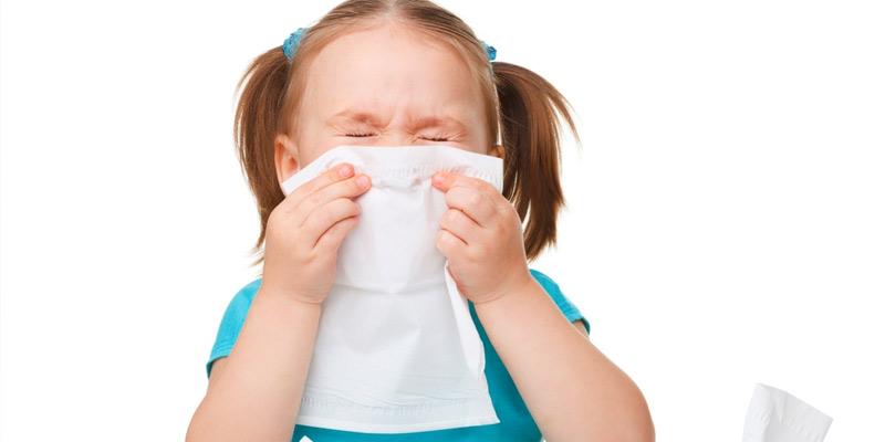 sinais de alergia